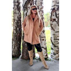 Cavaricci plus size molett női alpaka kabát