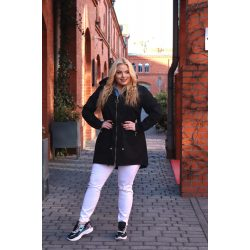 Cavaricci plus size molett női átmeneti tavaszi kabát/dzseki