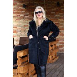 Cavaricci luxus plus size molett női téli kabát