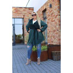 Cavaricci plus size molett női átmeneti midi kabát