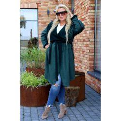 Cavaricci plus size molett női átmeneti maxi kabát