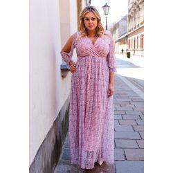 Cavaricci plus size molett női maxi ruha