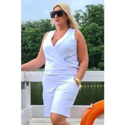 Cavaricci plus size molett női rövid nadrág