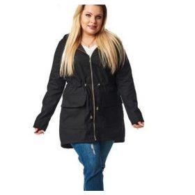 Kabát - plus size molett