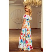hosszú fodros ruha                                                                         1