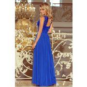 Kék LEA hosszú ruha csipkés nyakkivágással                                   311