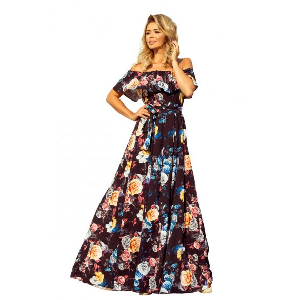 hosszú fodros ruha                                                                         4