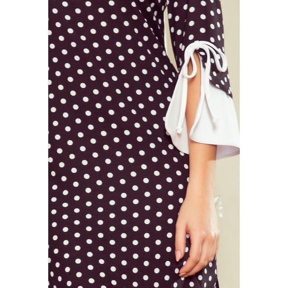 GRACE fehér ujjú ruha                                                                      5