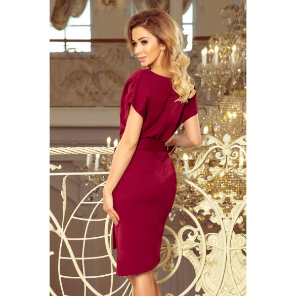 ruha asszimetrikus szoknyával és övvel                                                     3