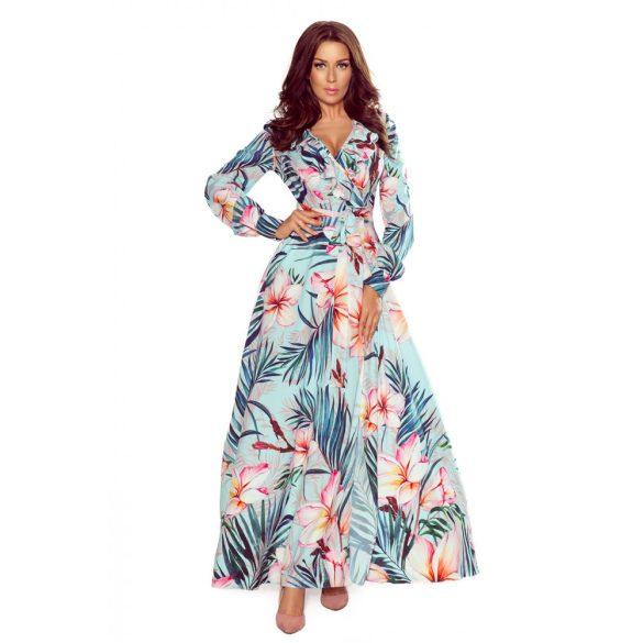 hosszú fodros ruha                                                                         6