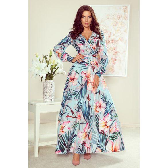 hosszú fodros ruha                                                                         7