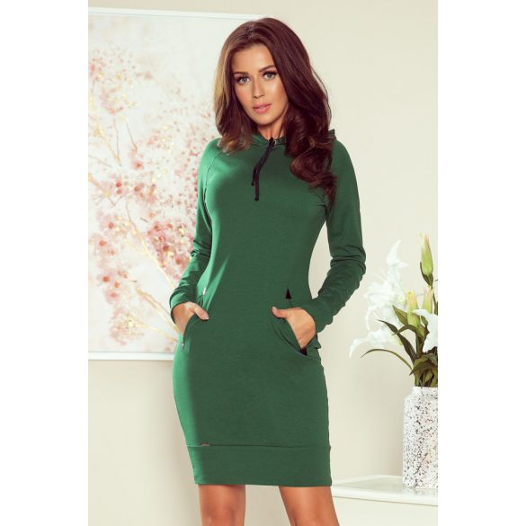 ELSA zöld kapucnis ruha                                                                    1