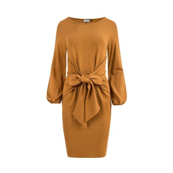 JENNY kényelmes kötött derekú ruha                                                         9