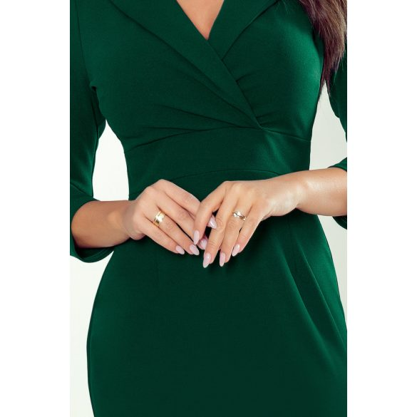 KELLY elegáns ruha nyakkivágással                                                          4