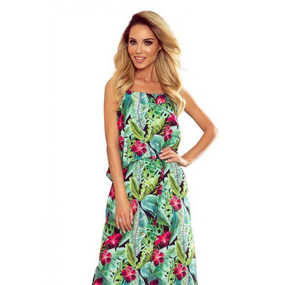 A oszályú pántos hosszú nyári ruha                                                         6